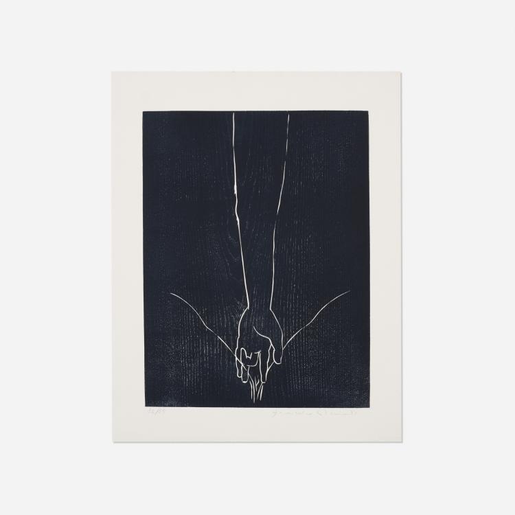 Francesco Clemente, Untitled (from the Febbre Alta portfolio)