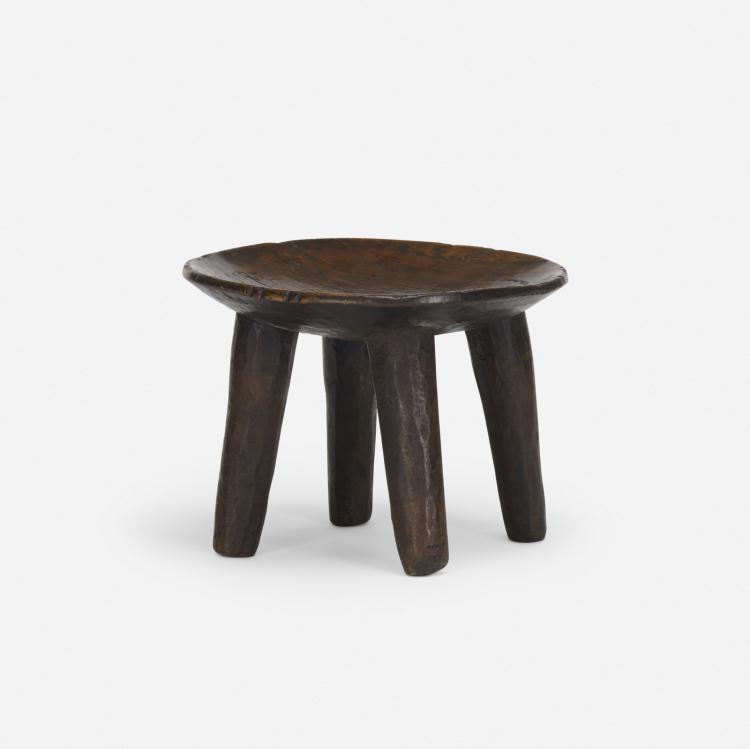African, stool