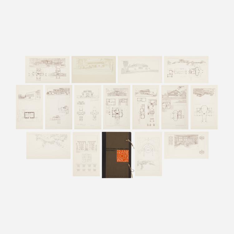Frank Lloyd Wright, Building Plans and Designs portfolio