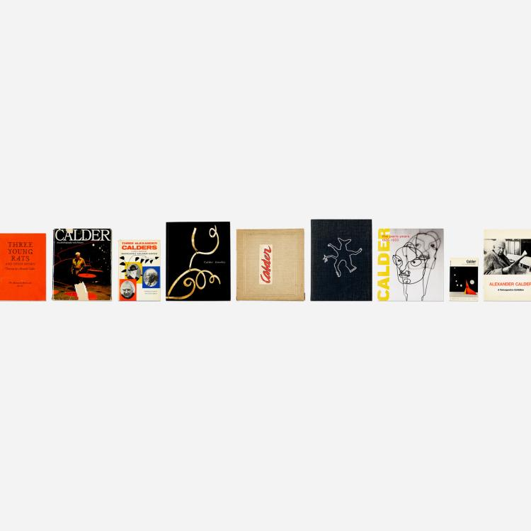 Alexander Calder, collection of fifteen books