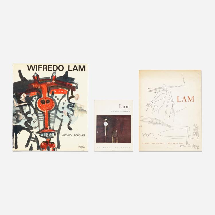 Wifredo Lam, collection of three books