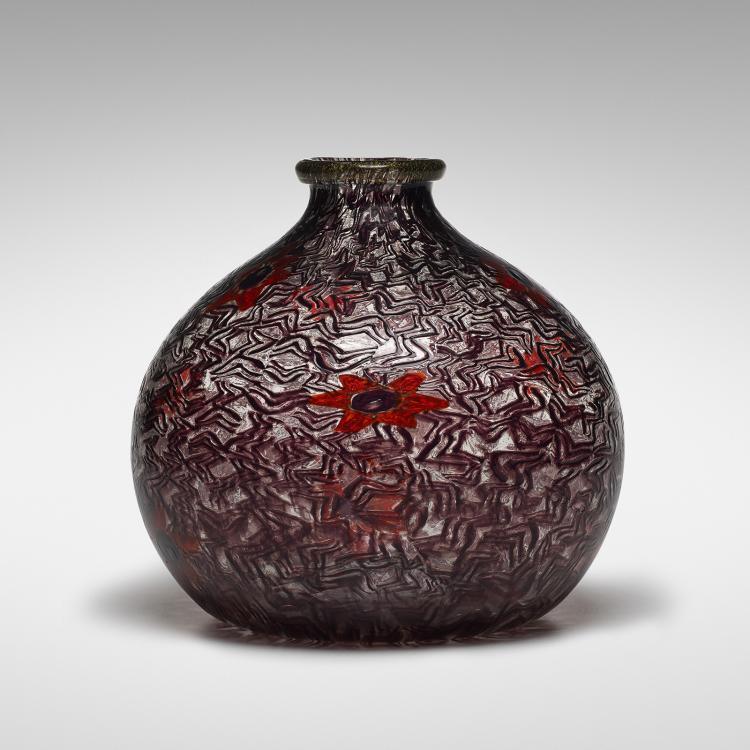 Nicolo Barovier Vetro Mosaico vase