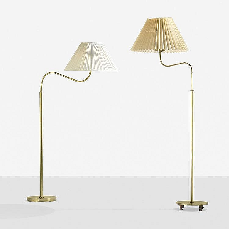 Josef Frank pair of floor lamps