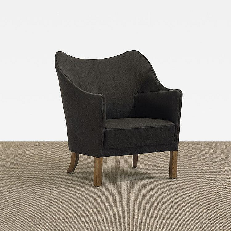 Danish lounge chair