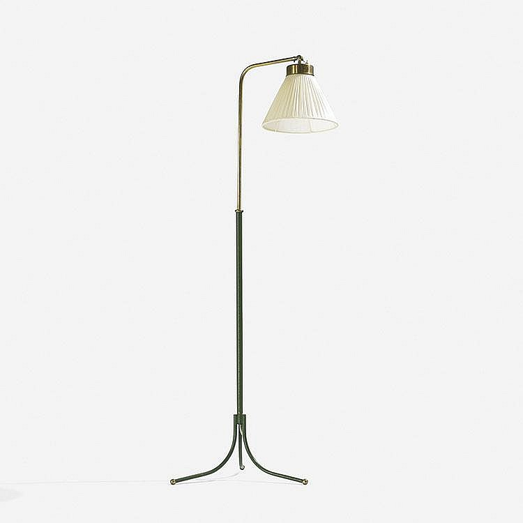 Josef Frank adjustable floor lamp, model 1842