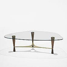 Edward Wormley coffee table, model 5309