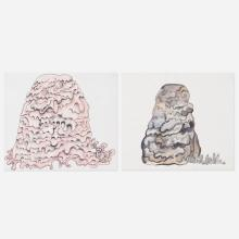 Justin Lieberman, Untitled and The Blob (two works)