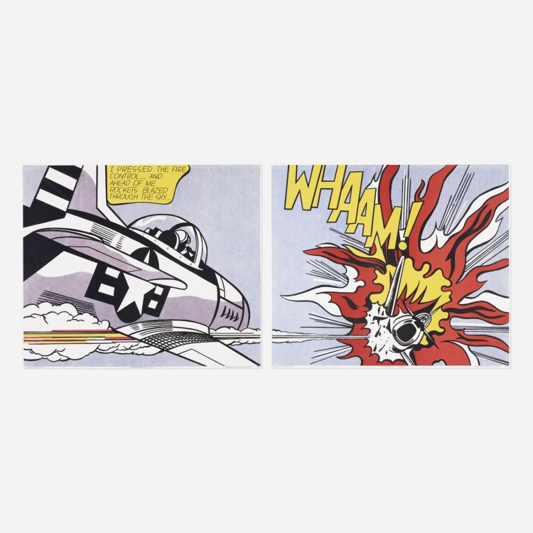 Roy lichtenstein whaam poster for Poster roy lichtenstein