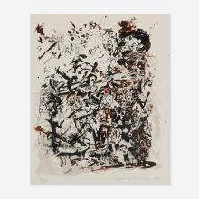 Cecily Brown, Study after an Election by William Hogarth