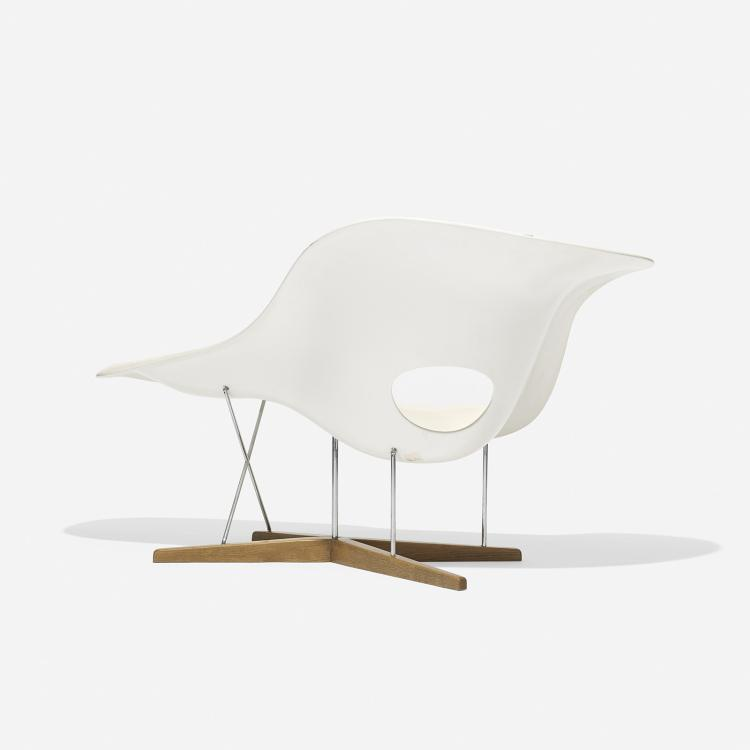 Charles and ray eames la chaise for La chaise eames occasion