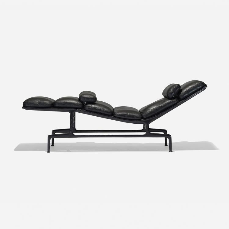 Charles and ray eames billy wilder chaise for Chaise charles ray eames