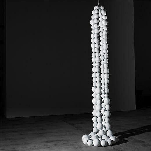 Jean-Michel Othoniel b. 1964 Double collier blanc
