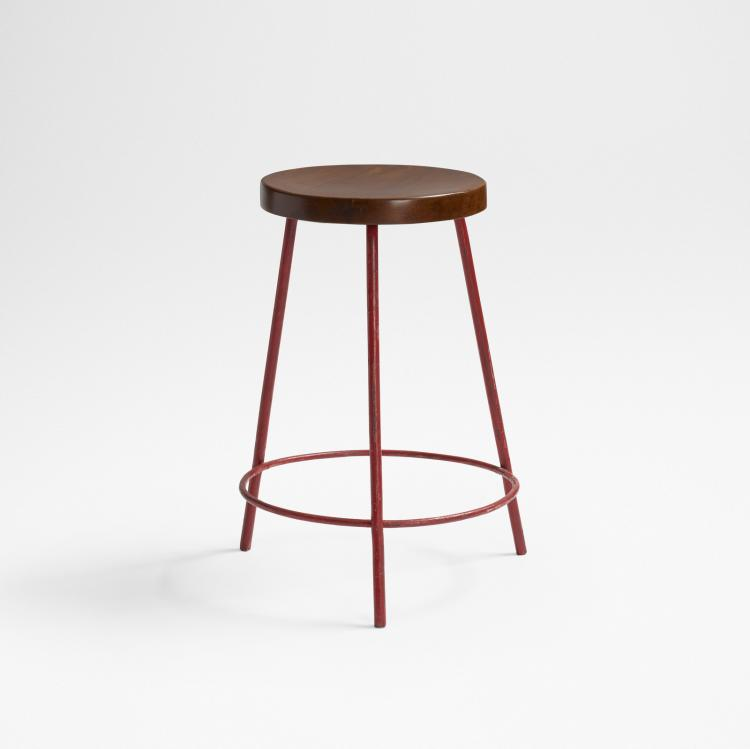 Pierre Jeanneret, stool from Chandigarh