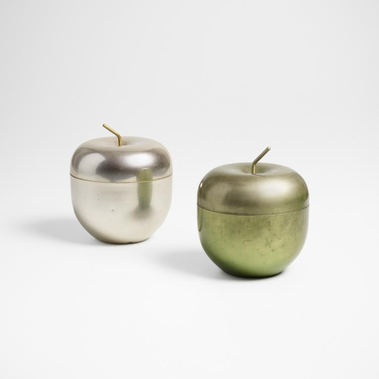 Ettore Sottsass, Mela ice buckets, set of two