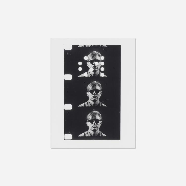 Gerard Malanga, Untitled (from Portraits of the Artist as a Young Man, Andy Warhol)