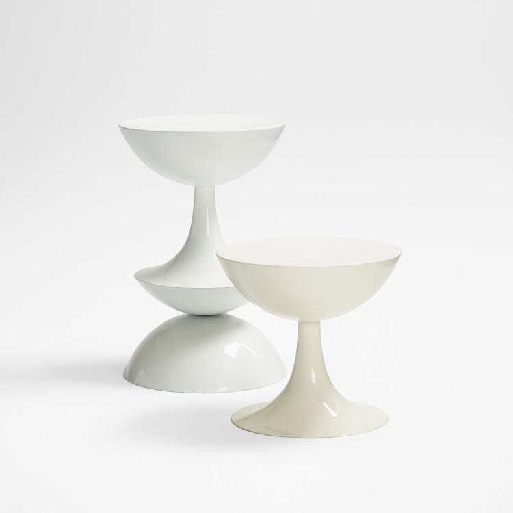 Nanna Ditzel, stools for Domus Danica, set of two