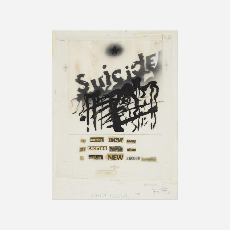 Timothy Jackson, Suicide Album Advertisement Mock-Up for Punk Magazine