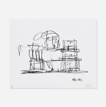 Frank Gehry Study for New Frank Gehry House