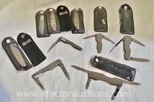 (9) Vintage Wilkinson Sword pocket knives