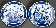 PAIR OF LARGER PLATES
