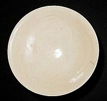 BOWL WITH COMBED DECOR