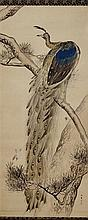 KISHI CHIKUDO (1826–1897): PEACOCK AND SPARROWS