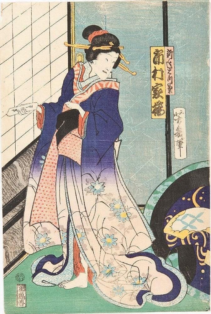 UTAGAWA YOSHIIKU (1833 - 1904)