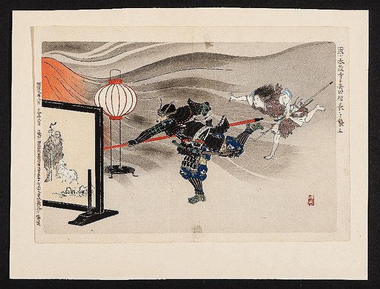 ADACHI GINKO (GIMKO) 安達吟光 (active ca. 1874 – 1897)
