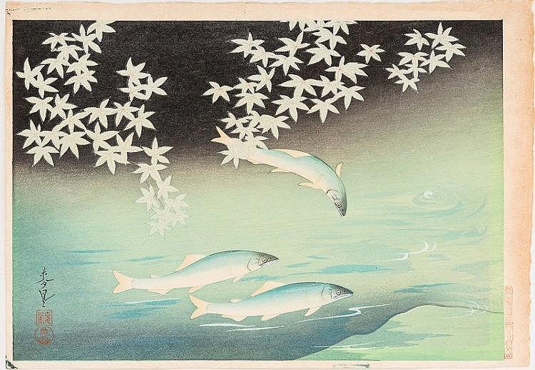 ONO BAKUFU 大野麦風 (1888 - 1976)