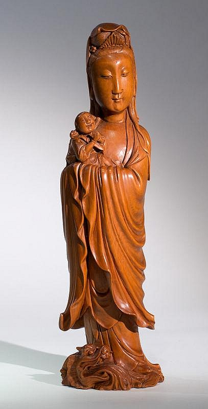 THE CHILD-BRINGING GODDESS GUANYIN