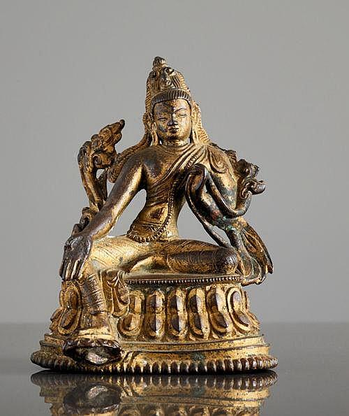 BUDDHIST BODHISATTVA SYAMATARA