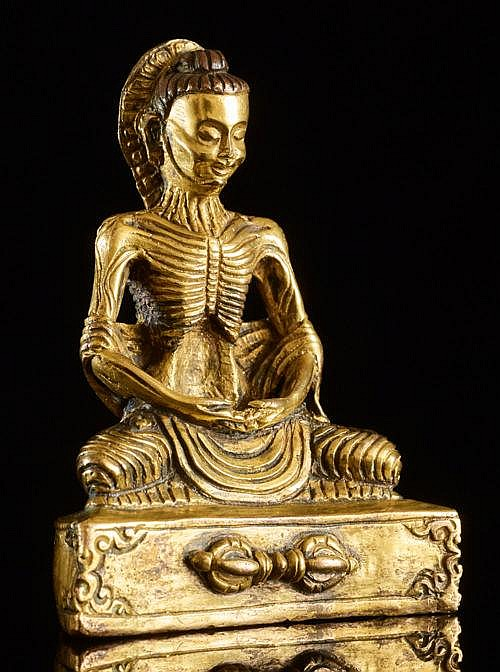 BUDDHA SHAKYAMUNI AS ASCETIC