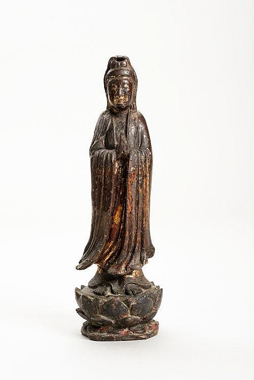 STANDING GUANYIN IN LONG ROBE