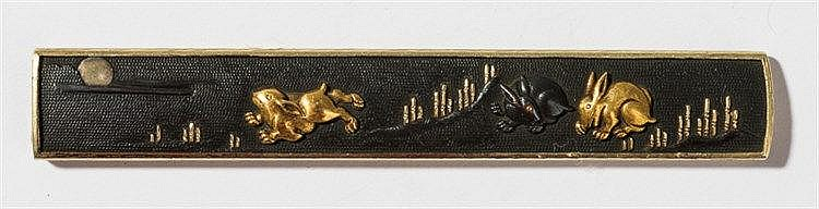 GOTO STYLE KOZUKA MIT THREE RABBITS AND MOON