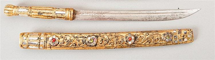 SWORD WITH A MAGNIFICENT SCABBARD