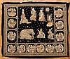 KALAGA WITH COURT SCENE AND ELEPHANT