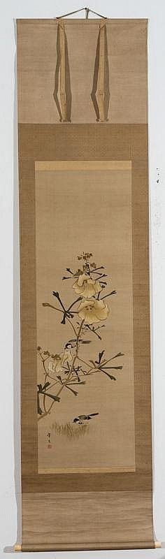 KEIBUN (1779 - 1843): FLOWERS AND BIRDS