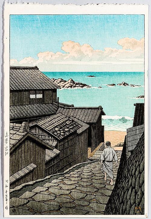 KAWASE HASUI川瀬巴水 (1883 – 1957)