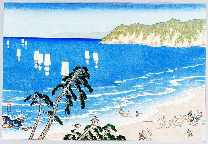 KAWATSURA YOSHIO (RAIZAN)川面義雄 (1880 - 1963)