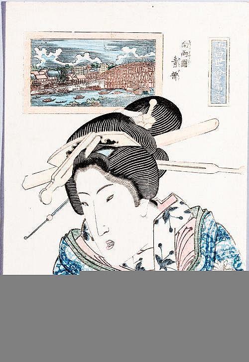 KEISAI EISEN溪斎英泉 (1790 - 1848)