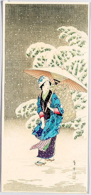 TAKAHASI HIROAKI (SHOTEI) 高橋弘明 (1871 - 1945)