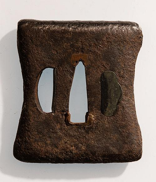 TSUBA OF A SWORDSMITH