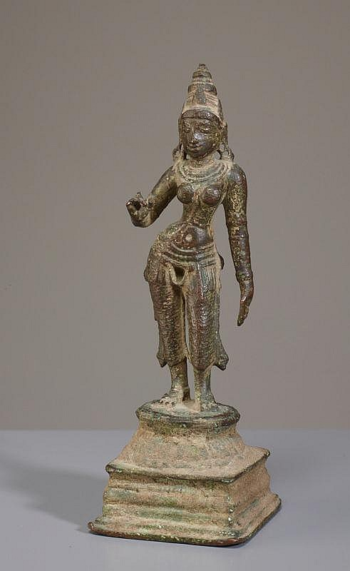 A STANDING FEMALE DEITY