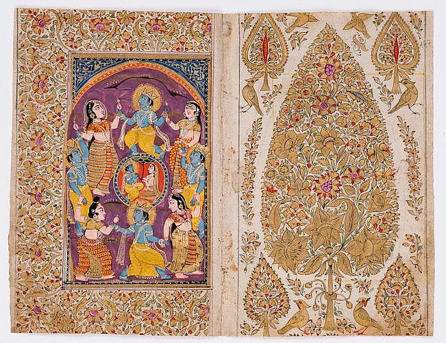 KRISHNA AND HIS GOPIS