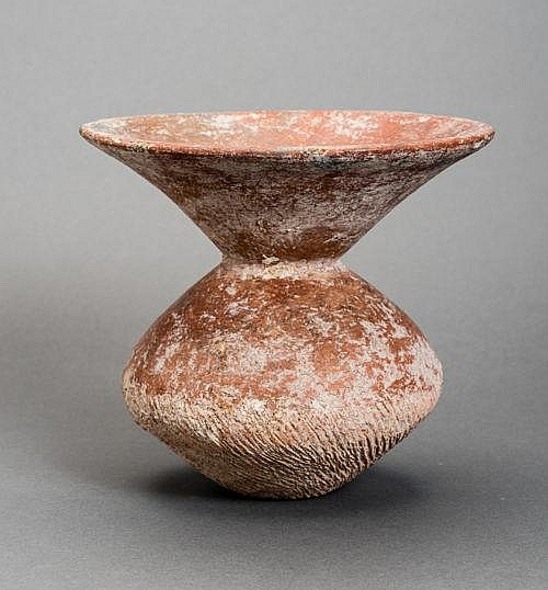 URN FROM A PREHISTORIC CULTURE