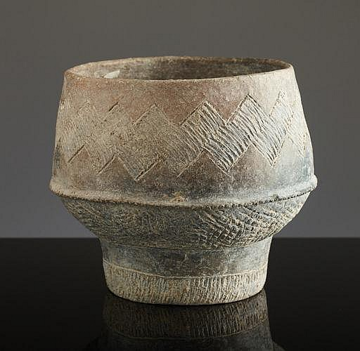 POT FROM A PREHISTORIC CULTURE