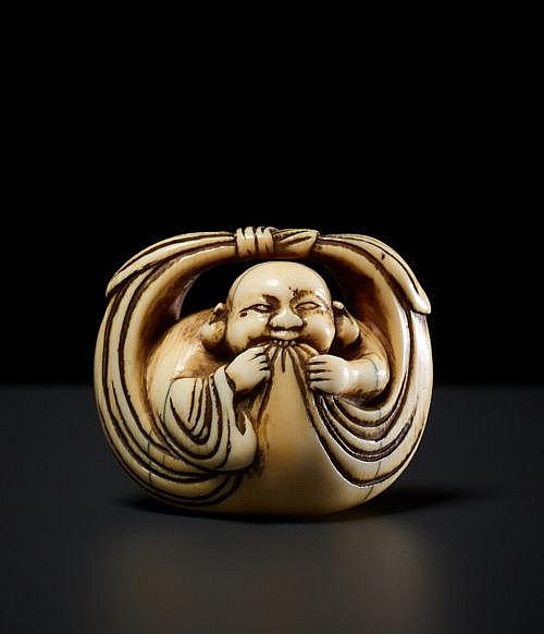 GOD OF LUCK HOTEI IN HIS SACK