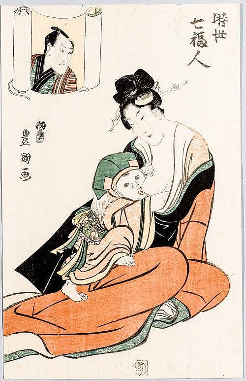 UTAGAWA TOYOKUNI I 歌川豊国 (1768 - 1825)