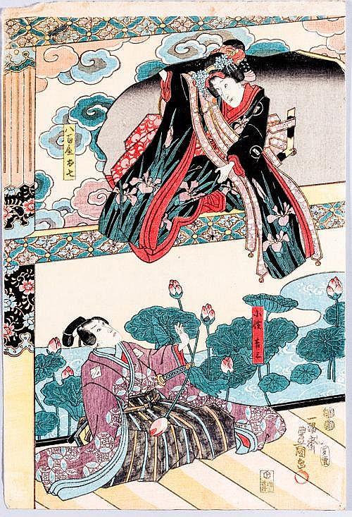 UTAGAWA KUNISADA I 歌川国貞 (=TOYOKUNI III) (1786 – 1865)