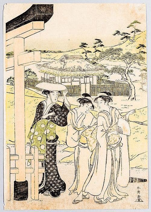 KATSUKAWA SHUNCHO 勝川春潮) (active late 1770´s - late 1790´s)